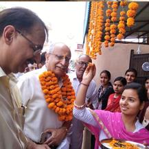 Launch of Vermi Compost Factory at village Chidana
