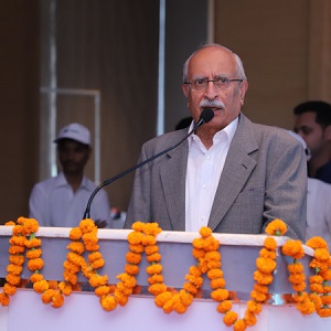 Pradip Burman, Founder of Mobius Foundation addressed the gathering – Project Aakar Phase II