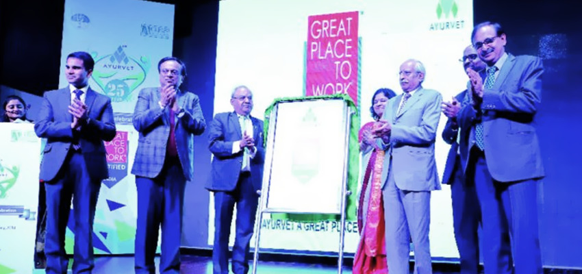 """Mr. Pradip Burman at """"Great Place to Work"""" Award Celebration at PHD Chambers of Commerce , New Delhi"""