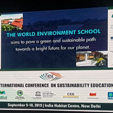 Launch Session of World Environment School Coorg at ICSE India 2019