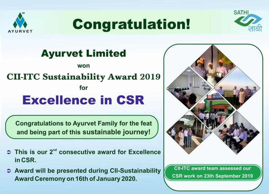 CII-ITC Sustainability Award