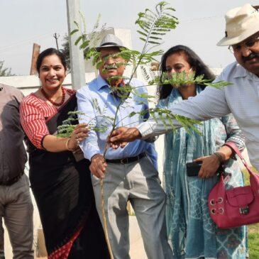 Tree Plantation Drive at Gyan Anant Vidyalaya